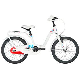 s'cool niXe 16 Børnecykel steel hvid